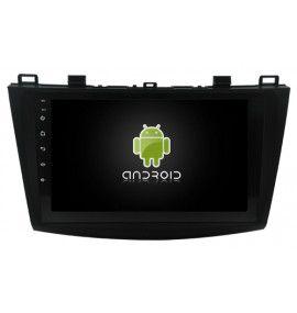 Autoradio GPS Android 10 Mazda 3 de 2004 à 2009