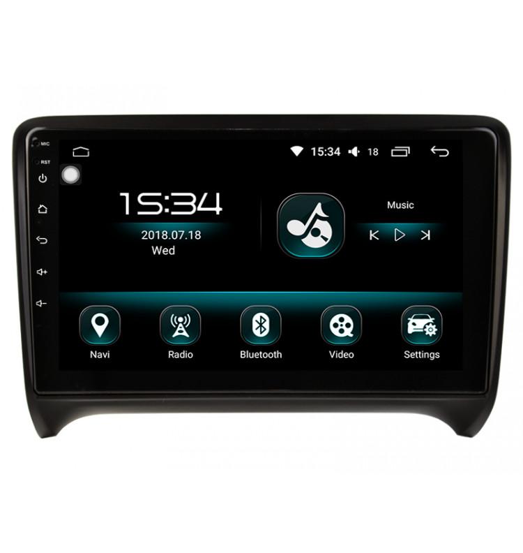 Autoradio GPS Android 10 Audi TT TTRS 2006 à 2014