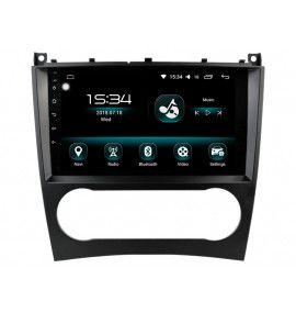 Autoradio GPS Android 10 Mercedes Classe C, CLC, G, C coupé