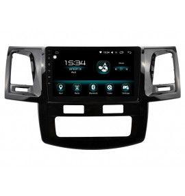 Autoradio ANDROID 10 GPS Toyota Hilux depuis 2012 clim auto