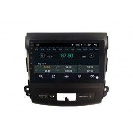 Autoradio GPS Android 10 Mitsubishi outlander, Citroën C-Crosser, Peugeot 4007