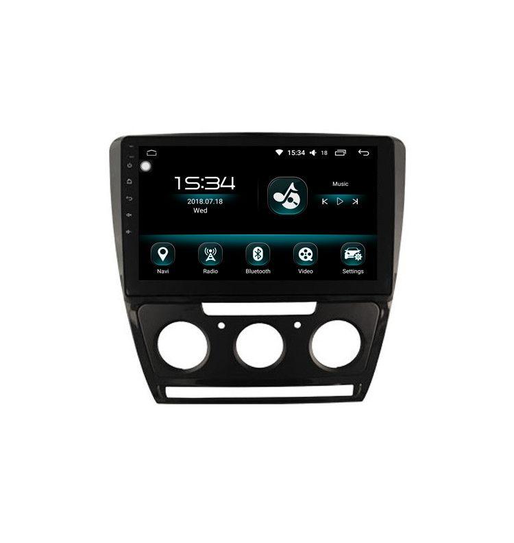 "Autoradio 10.2"" GPS Android Carplay & SIM 4G 10 Skoda Octavia avant 2013, Yeti clim Manuel"