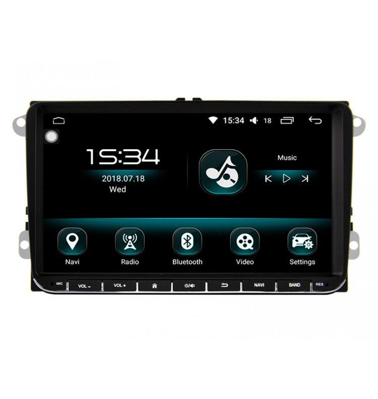 "Autoradio 10.2"" N GPS Android 10 Carplay & SIM 4G Volkswagen Volkswagen Golf 5 Golf 6 Beetle Eos Touran T5, Tiguan, Polo, Caddy,"