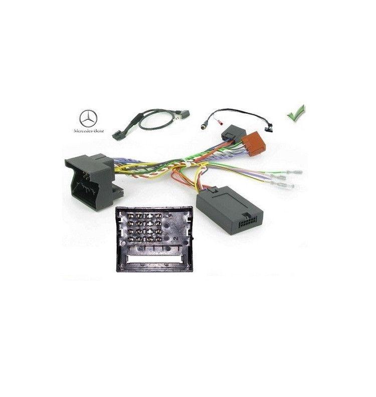 Adaptateur commande volant et ordinateur de bord Mercedes