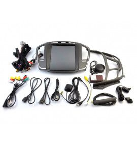 Autoradio GPS ANDROID 10 intégré Opel Vauxhall Insignia depuis 2013.