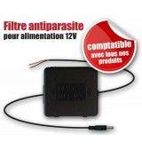 Filtre anti-parasites 12 Volts et protection (fusible intégré) pour caméra de recul.