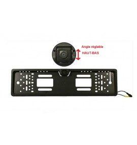 Caméra de recul CCD de plaque immatriculation universelle