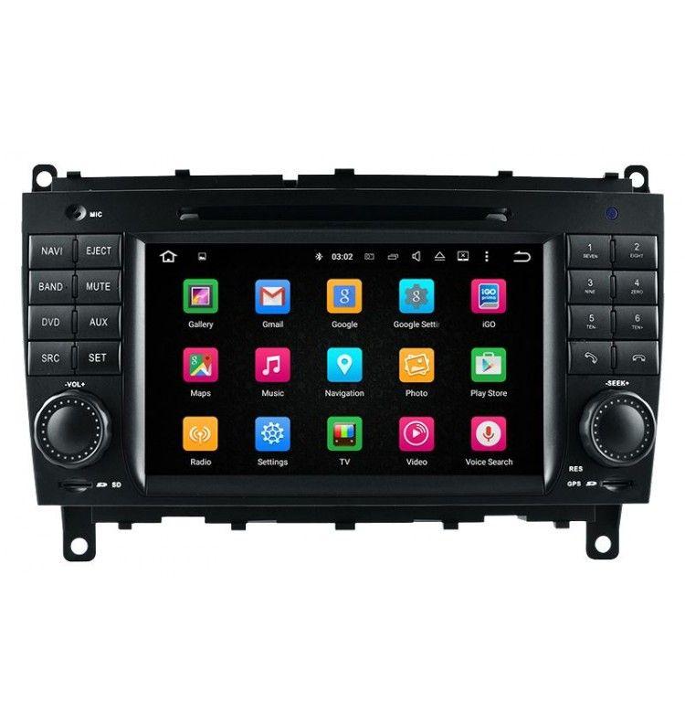 Autoradio GPS Android 5.1 Mercedes Classe CLK, CLS