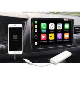 Iphone Apple CAR PLAY 1 ANdroid AUTO pour autoradio (Dongle USB )