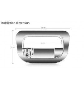 Caméra de recul CCD Toyota Hilux