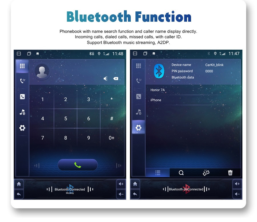 fonction bluetooth
